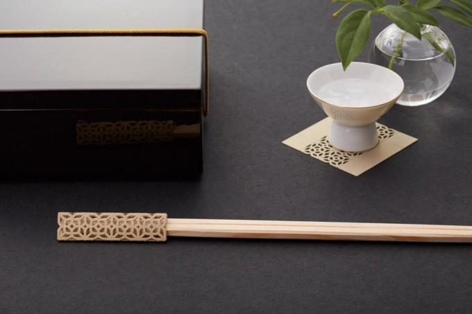 折り紙みたいなお箸飾り「cohana(こはな)」のお箸飾り