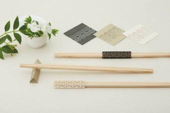 日々の食卓にささやかな華を添えてくれる。折り紙みたいなお箸飾り「cohana」