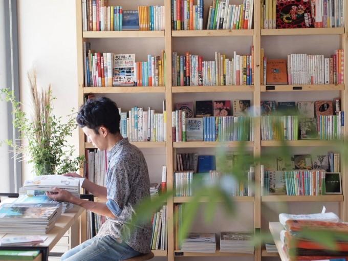 「長月(ながつき)」の本棚スペース