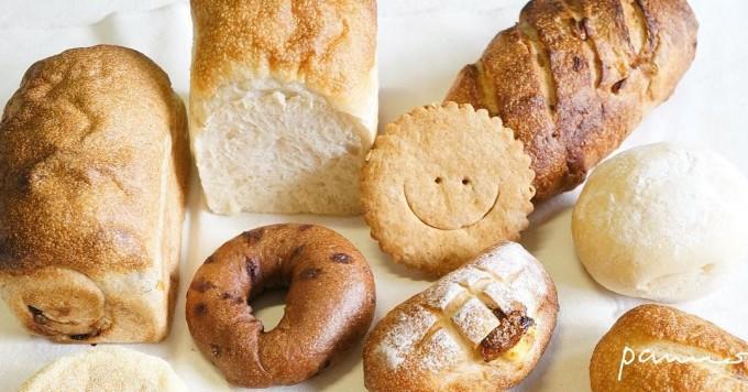 「ぱんノート」のパンや焼き菓子