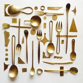 食卓に静かな輝きを。美しい鍛金のカトラリー「tomomi Ishikawa」