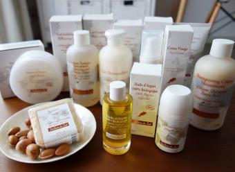 お肌や髪の毛をつややかに。アルガンオイル配合のオーガニック化粧品「Senteurs du sud」