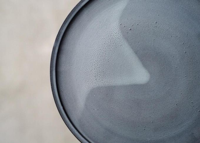 3RD CERAMICS(サードセラミックス)の黒泥皿
