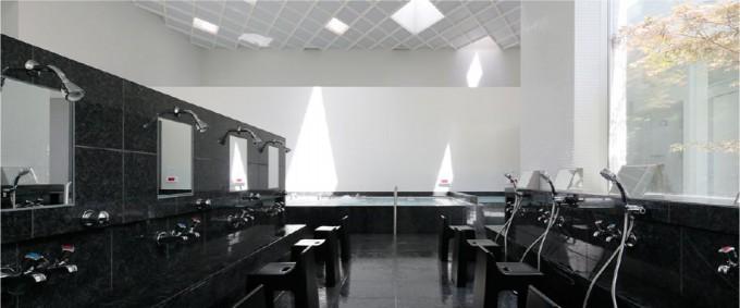 久松湯(ひさまつゆ)の大浴場の様子
