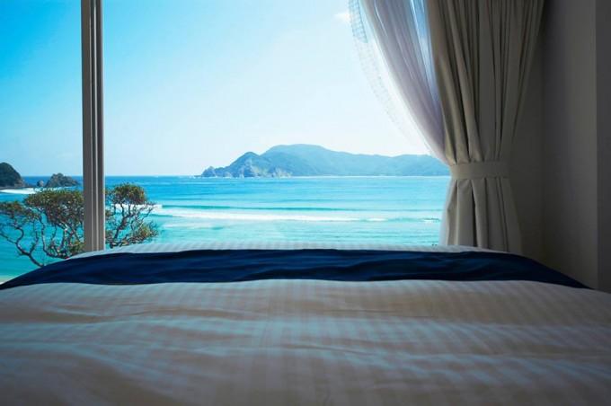 透明度が高い奄美大島の海