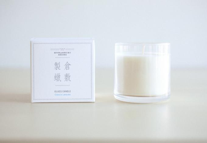 「倉敷製蝋」の香りに包まれるキャンドル
