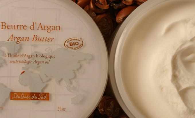 Senteurs du sudのアルガンオイル配合のクリーム