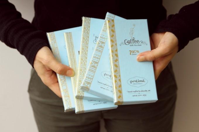 French Broad Chocolatesのチョコレート5種類