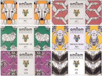 アイスランドからやってきた、折り紙デザインのチョコレート「Omnom Chocolate」