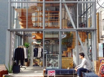「TENTOSHI」の建築から感じるナチュラルテイストの空間と商品たち