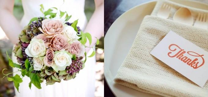 「OH!HAPPY WEDDING」プロデュースのフラワーやカード