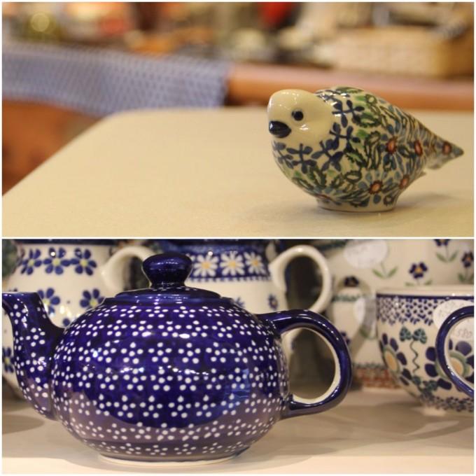 巣鴨のポーランド陶器のお店「おさらや」