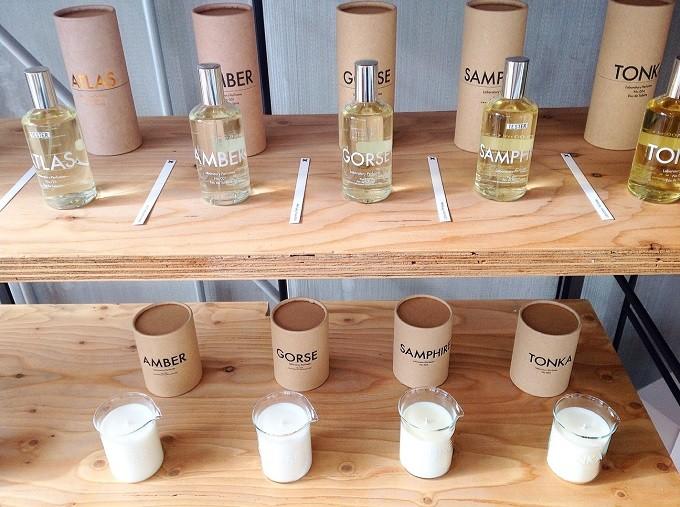TENTOSHIで扱っているフレグランス「Laboratory Perfumes」