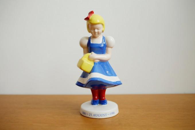 陶器でできたIrma(イヤマ)のオリジナルキャラクター