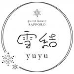 ゲストハウス「雪結(yuyu)」のロゴ