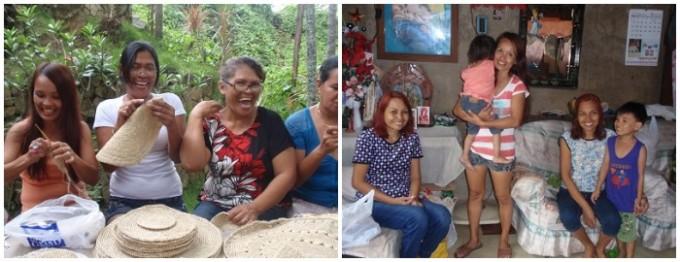 笑顔が素敵な「sulci(スルシィ)」を編むフィリピン人の女性たち