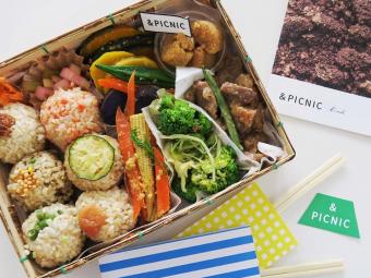 """食材にこだわる「&PICNIC」が作る、彩り豊かなお弁当とハワイのドーナツ""""マラサダ"""""""