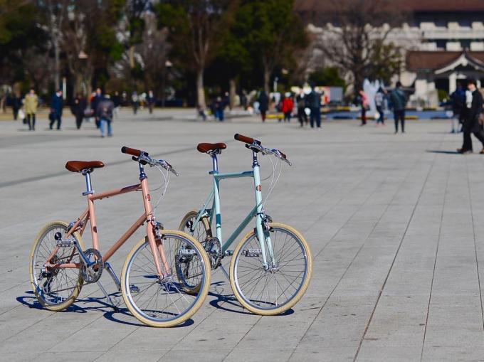 tokyobikeのコンパクトな自転車2台