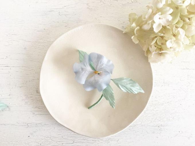 花ノ香 -hananokaori-の春花のブローチ