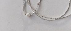 立田暁子さんの作るパールとビーズのネックレス