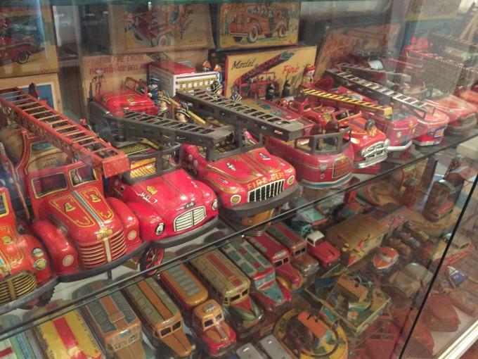 横浜のブリキのおもちゃ博物館1