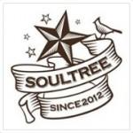 レストラン&カフェバー「SOULTREE(ソウルツリー)」のロゴ