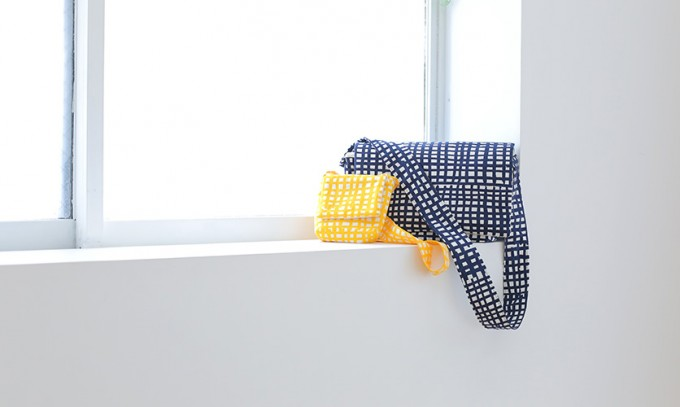 nunocoto(ヌノコト)のオリジナル布で作られたバッグ