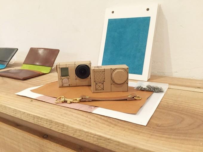 財布やGo Proケースも。遊び心満載の革のオーダーメイド、リメイク、リペアの店「N i H」