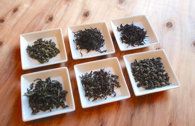 台湾茶や中国茶の凍頂烏龍茶、東方美人、文山包種、鉄観音、鳳凰単叢、岩茶の茶葉