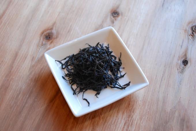 中国茶の鳳凰単叢の茶葉