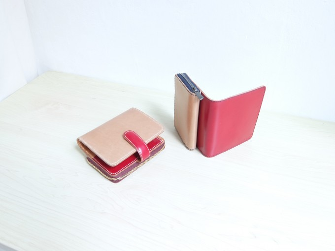 NiHのオーダーメイドの革の財布
