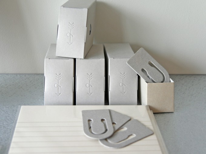 PAPIER LABO. (パピエラボ)で売っている「印刷加工連」の紙クリップ