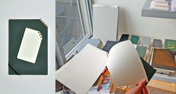 PAPIER LABO. (パピエラボ)で売っている「印刷加工連」のノート