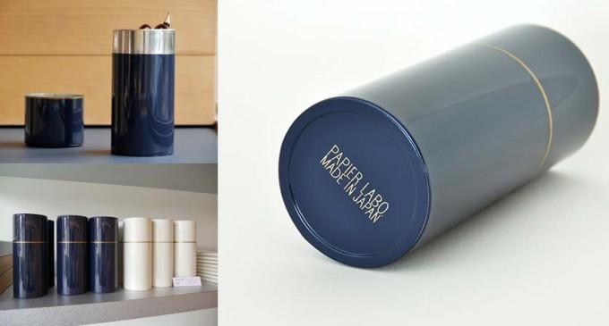 PAPIER LABO. (パピエラボ)オリジナルグッズのブリキ缶のペンケース