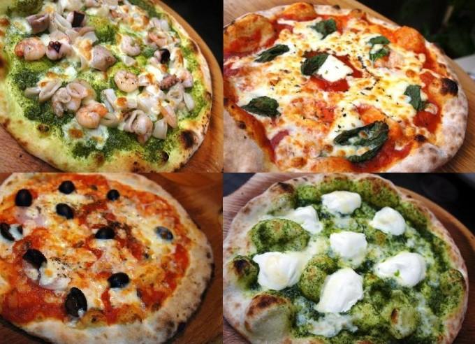 「PIZZA9丁目」グランドメニューのローマピザは全28種類、うれしい1枚600円