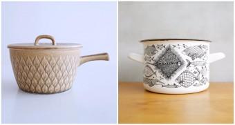 一生ものにしたい。キッチンを彩る北欧ヴィンテージのお鍋たち