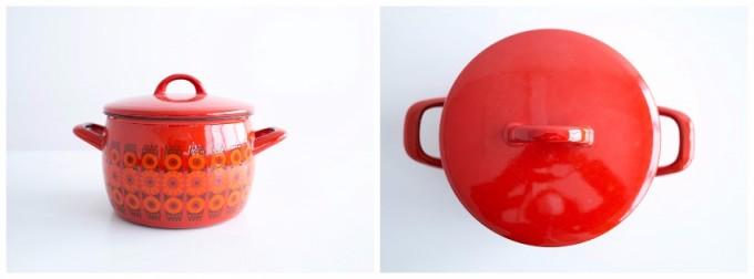 おすすめ北欧キッチン雑貨、FINELのホーロー両手鍋