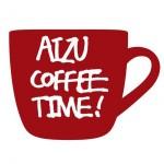 福島県耶麻郡猪苗代町のはじまりの美術館で開催される「AIZU COFFEE TIME」のロゴ