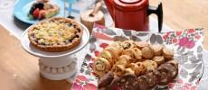 フィンランドキッチンタロのベリーパイやクッキー