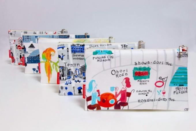 福岡の新おみやげは「コーディニア」で。元気をくれる街並みデザインの雑貨たち   Sheage(シェアージュ)