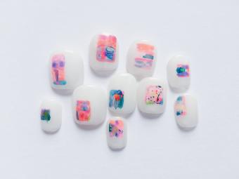 指先に描かれるやさしい世界。毎日がより鮮やかになる「nail atelier りぼん」のネイル