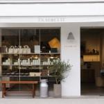 清澄白河のフランス菓子店「EN VEDETTE(アンヴデット)」の白を基調とした外観
