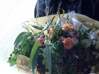 オーダーメイドの花束で感謝の気持ちをあの人へ。お花のアトリエ「ZAIKUCRAFT」