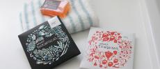 NEHAN TOKYOのタオルと石鹸とエプソムソルト2種類