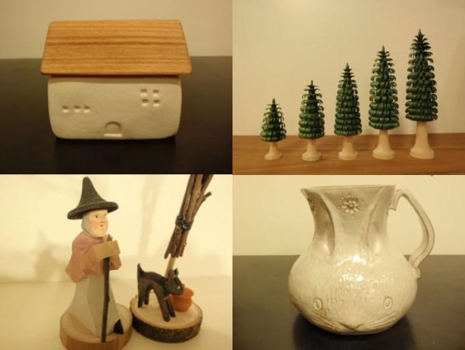 「octobre(オクトーブル)」の陶器や木製のハンドメイド雑貨
