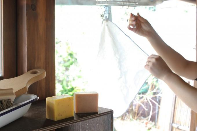 枚方公園駅の雑貨店『ルポ・デ・ミディ』の「まにまっく石鹸」2種