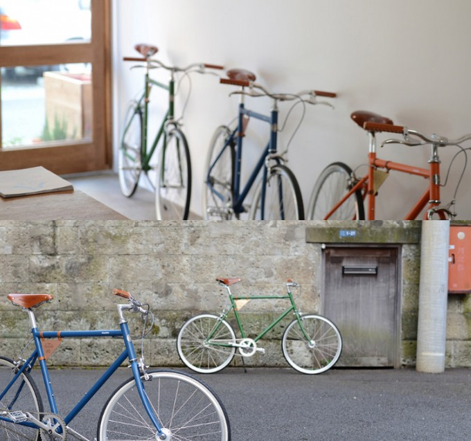 「Tokyobike Rentals Yanaka」で借りれるスタイリッシュな自転車