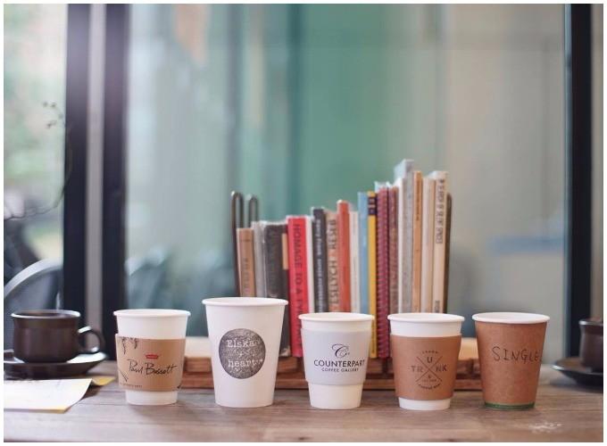各店舗のコーヒーを一気に味わえる「5 cups TICKET」