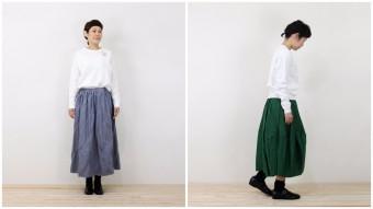 この時期見つけたい、素材やシルエットにこだわった春風にひらめく「大人スカート」