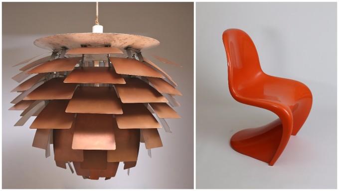 「デンマーク・デザイン」展が開催中の横須賀美術館で見られるランプと椅子